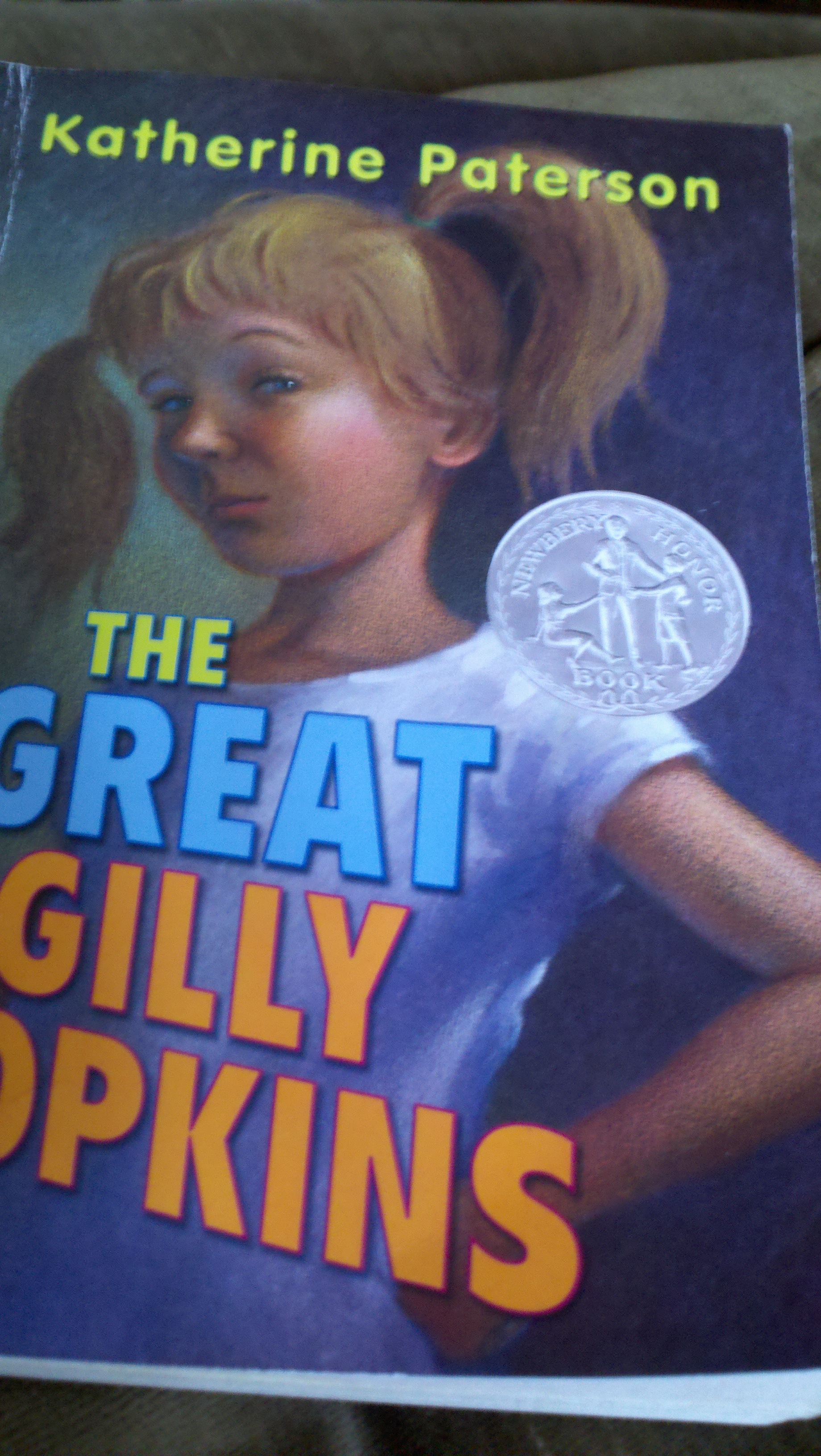 a review of the themes in the great gilly hopkins by katherine paterson But the rescue doesn't work out, and the great gilly hopkins is left thinking that   amazoncom review gilly  this newbery honor book manages to treat a  somewhat grim, and definitely grown-up theme with love and humor,  katherine  paterson was born in china, where she spent part of her childhood.
